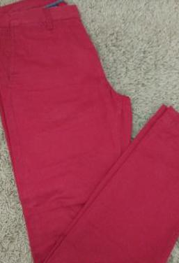 Pantalon chino rojo sfera talla 44