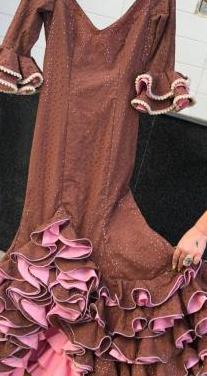 Traje de flamenca talla 34