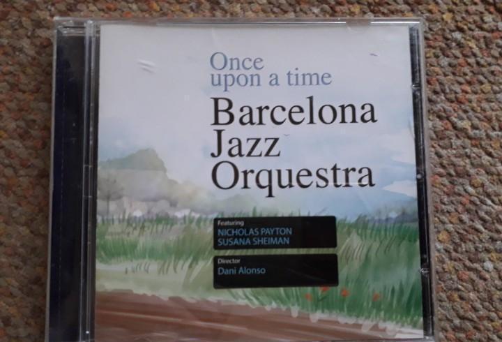Barcelona jazz orquestra, once upon a time, cd 2007 estado