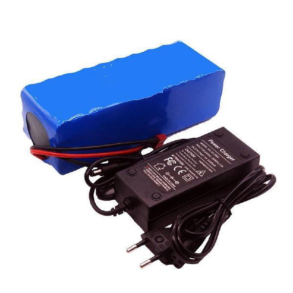 Batería colaier 36v 6ah 500w 18650 litio 2000mah 2