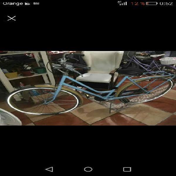Bicicleta retro paseo holandesa