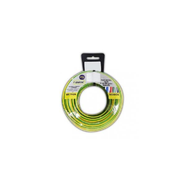 Carrete cablecillo flexible 1,5mm bicolor 10m li.