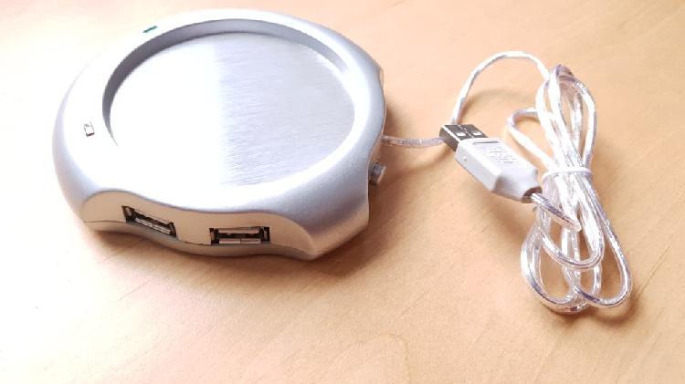 Calentador de tazas usb + hub usb 4 puertos. nuevo
