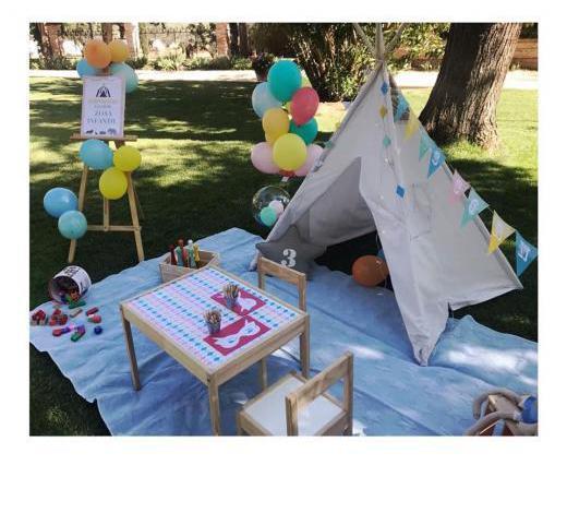 Candy bar y decoración de eventos