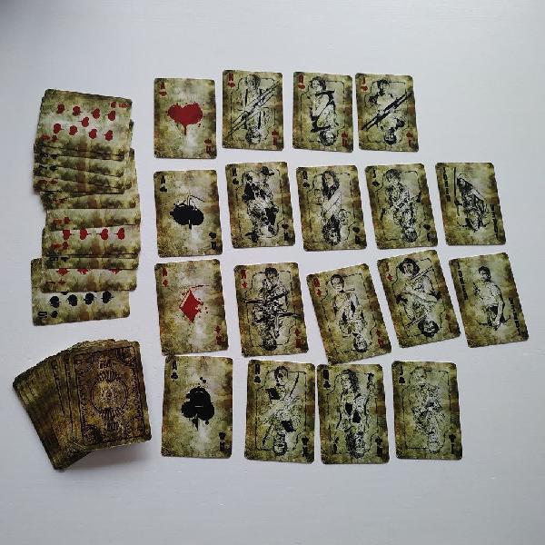 Cartas de poker de the walking dead