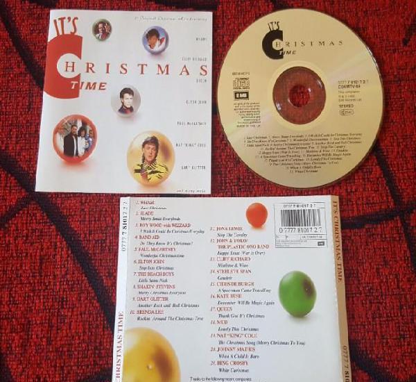 Christmas emi cd paul mccartney george michael elton john