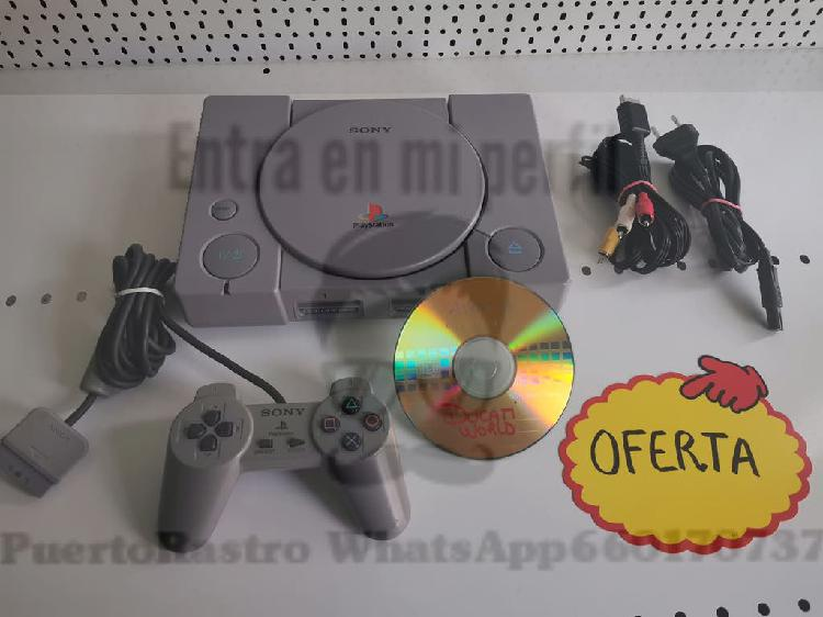 Consola sony playstation ps1 psx
