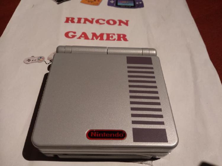 Consola nintendo gameboy advance sp nes ips