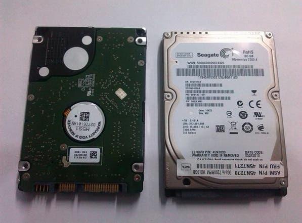 Disco duro 160gb sata portatil
