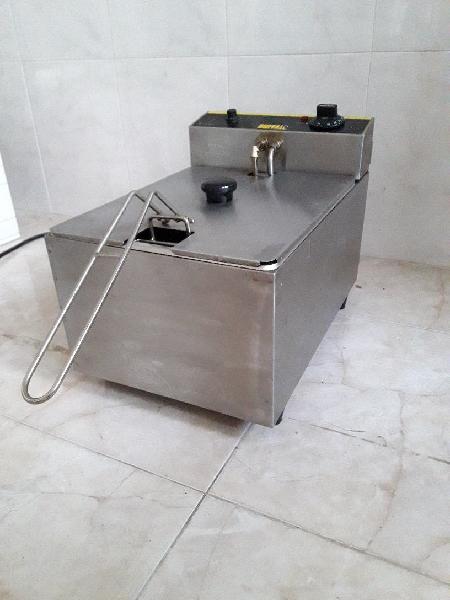 Freidora acero inox 5l