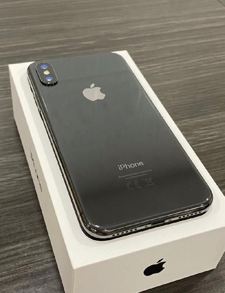 Iphone x 256gb grey space