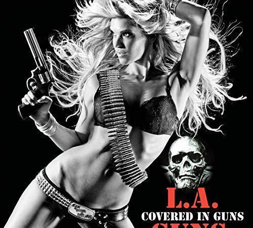 L.a. guns - covered in guns (red)
