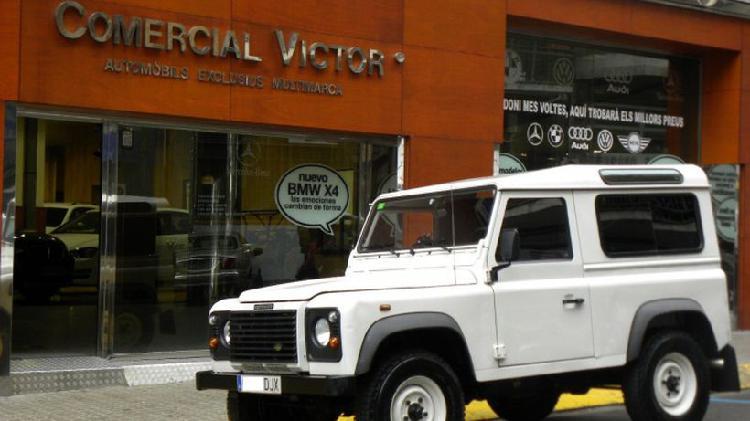 Land-rover defender 110 2.5td5 techo duro se
