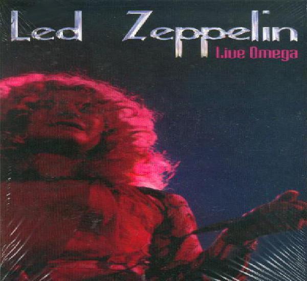 Led zeppelin 2xcd live omega caja alargada live deluxe box