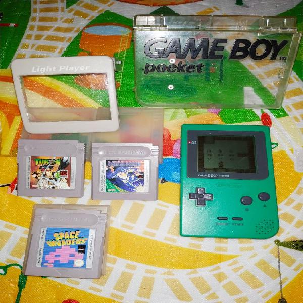 Lote game boy pocket