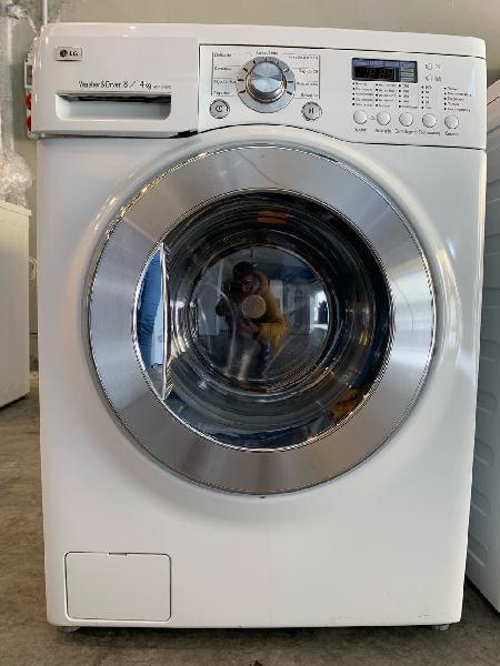 Lavadora secadora lg 8kg 1200rpm a+. garantia