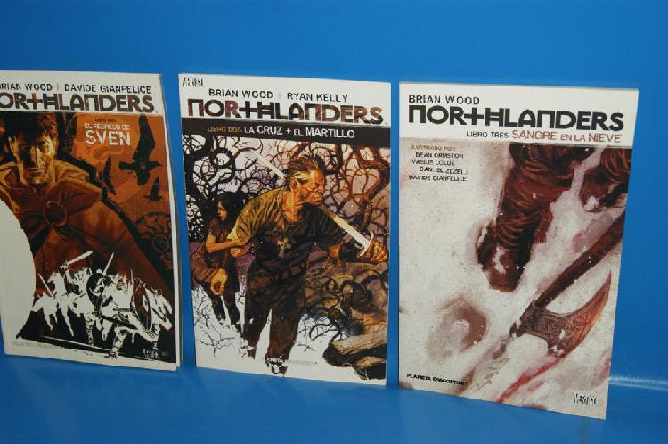Lote comics vertigo northlanders -3 tomos