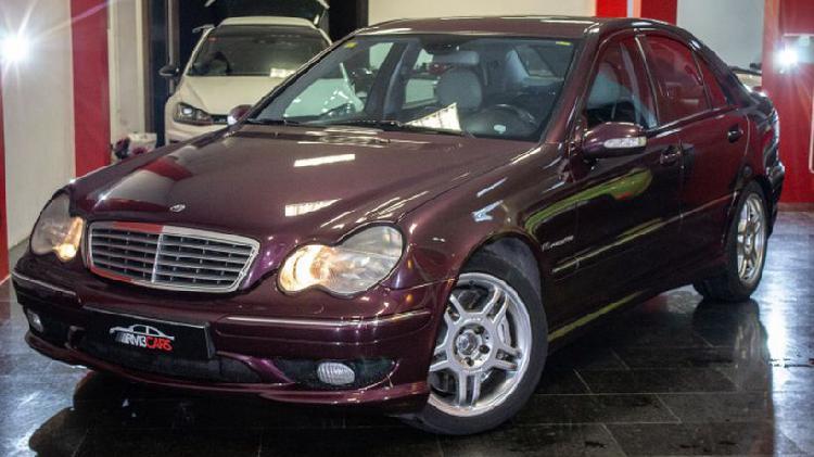 Mercedes-benz clase c 32 k amg