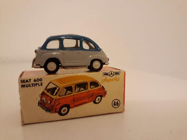 Minicars anguplas seat 600 múltiple con caja.