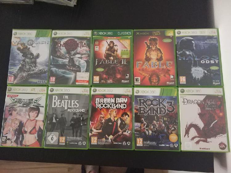 Pack lote juegos xbox y xbox 360 pal españa