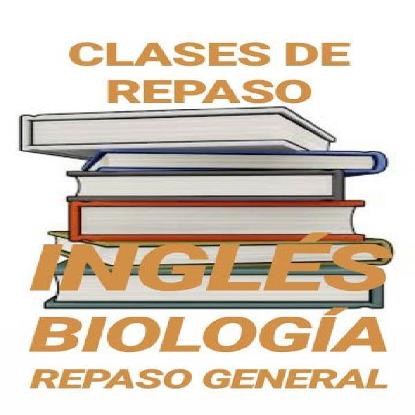 Profesora inglés/biología/repaso