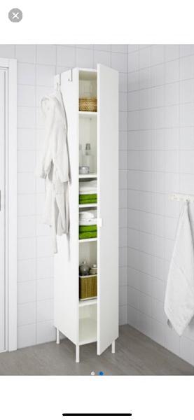 armarios de baño ikea lacado blanho