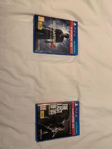 Se venden juegos play 4