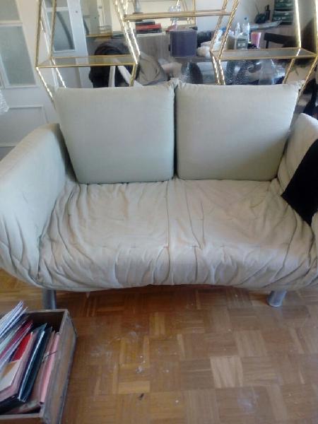 Sofá cama dos plazas hecho en españa