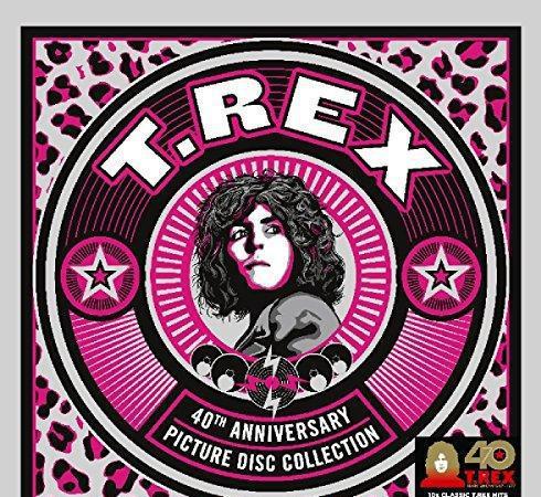 T. rex - t. rex 7 inch picture disc box
