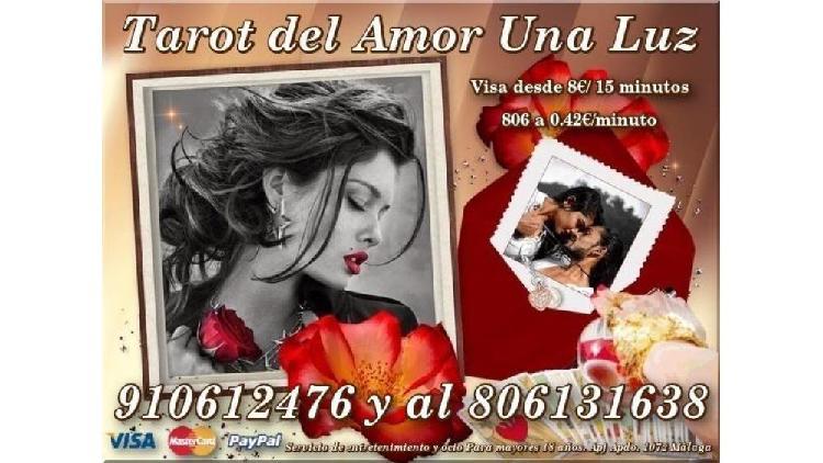 Tarot del amor 8€/15m.