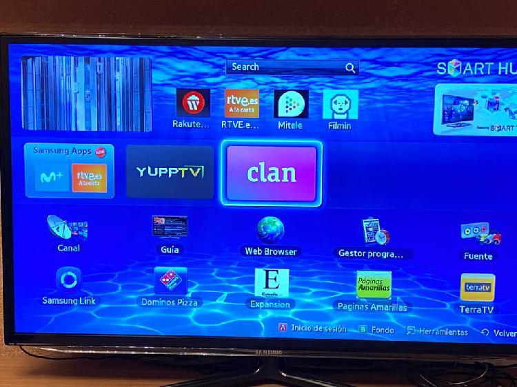 "Televisor samsung 40"" smart tv 3d"
