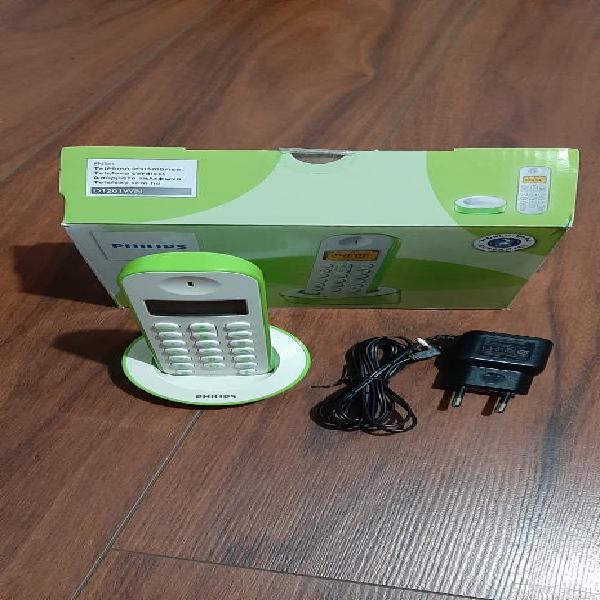 Teléfono inalámbrico philips d120