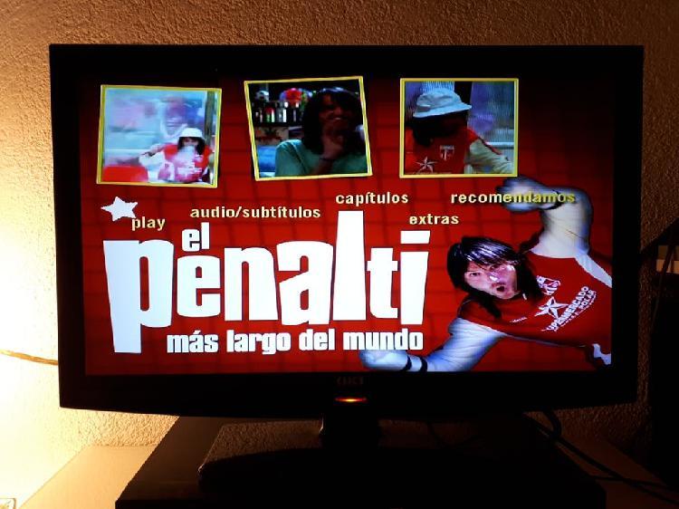 Tv plana lcd con hdmi usb full hd