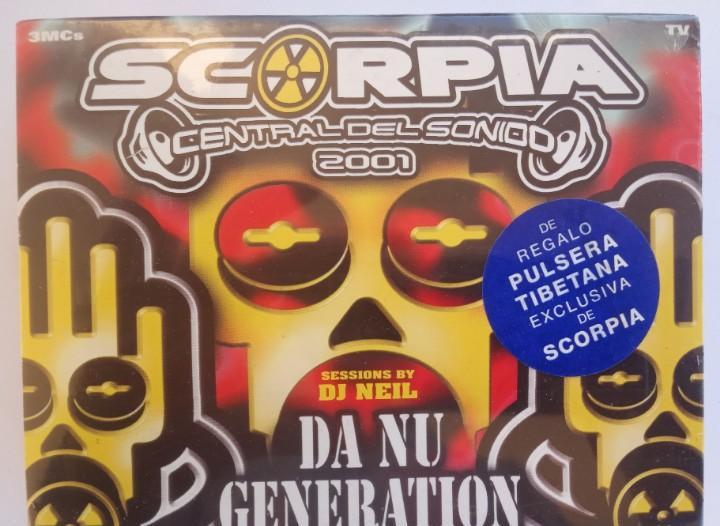 Varios - scorpia central del sonido 2001 - da nu generation