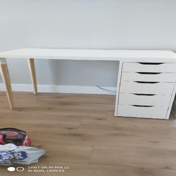 Montamos cualquier tipo de mesa ikea malm + perfil