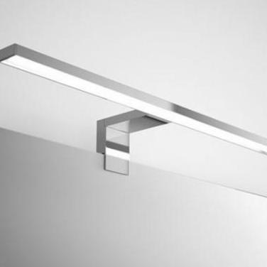 Aplique led moderno aluminio o cromo
