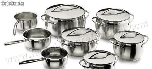 Bateria de cocina completa belly - 8 piezas