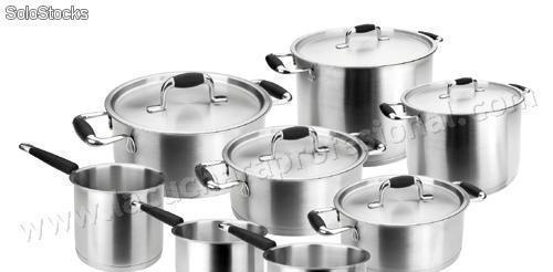 Bateria de cocina completa premium - 8 piezas