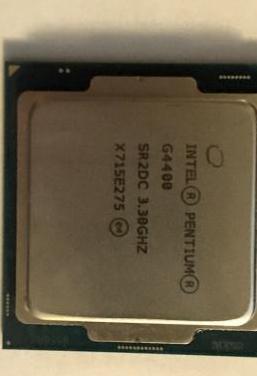 Cpu intel pentium g4400 3.3ghz socket 1151