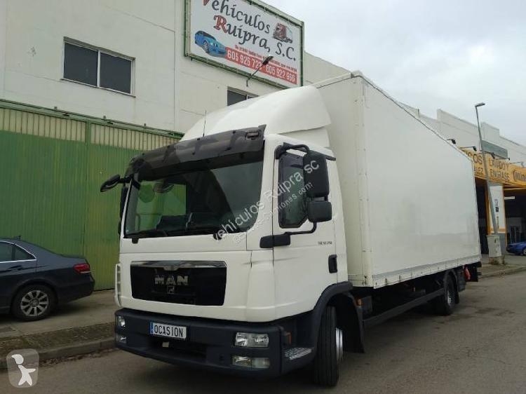 Camión man furgón tgl 12.250 4x2 diesel euro 5 rampa