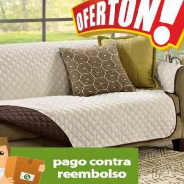 Funda reversible para sofás