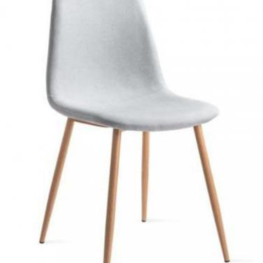 Mc haus - pack 2 sillas elva gris perla diseño...