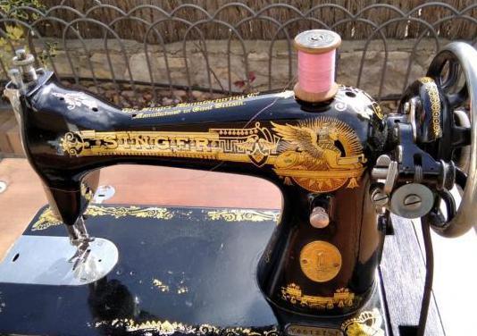 Máquina de coser singer esfinge