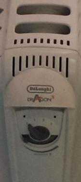 Radiador aceite marca danlonghi dragon3
