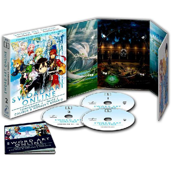 Sword art online: 2ª temporada - 2ª parte (blu-ray + banda
