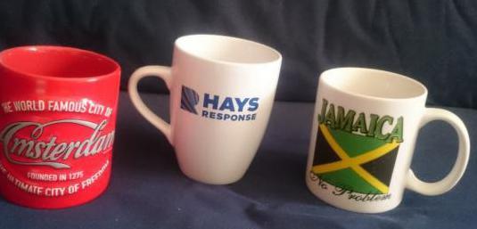 Taza desayuno hays response, jamaica y amsterdam