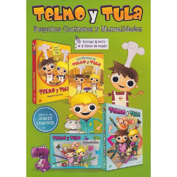 Telmo y tula: pequeños cocineros (serie de tv)