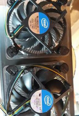 Ventilador disipador intel e98290-001 y e97379-001