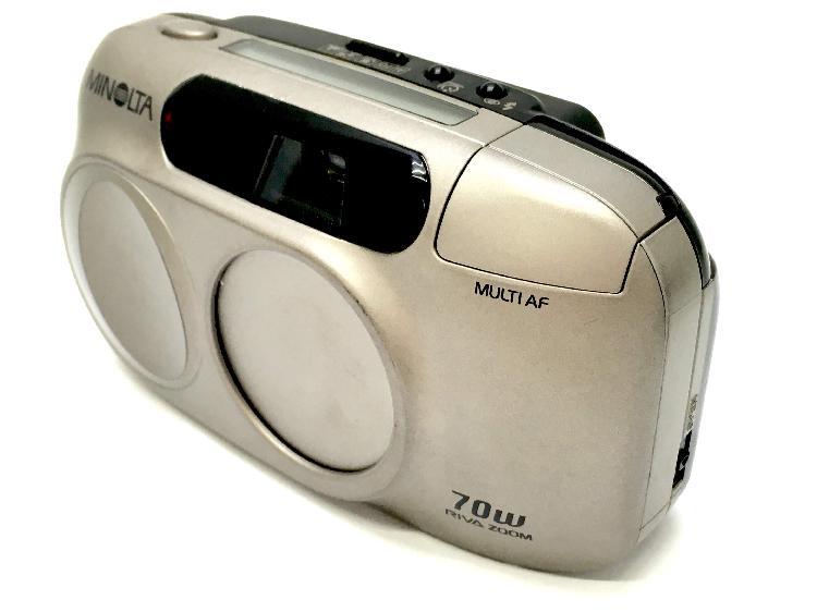 Camara compacta 35mm minolta riva zoom 70w