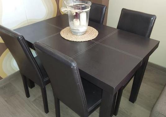 Mesa comedor 4 sillas